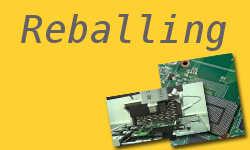 reballing - elektronik samochdowy