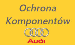 ochrona komponentów Audi